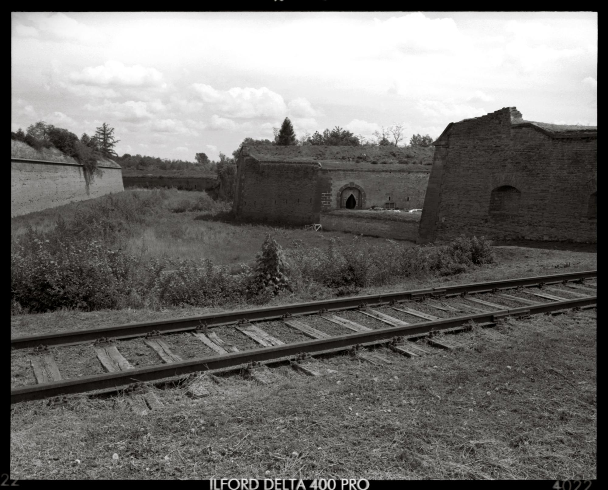 Terezin, The Railway