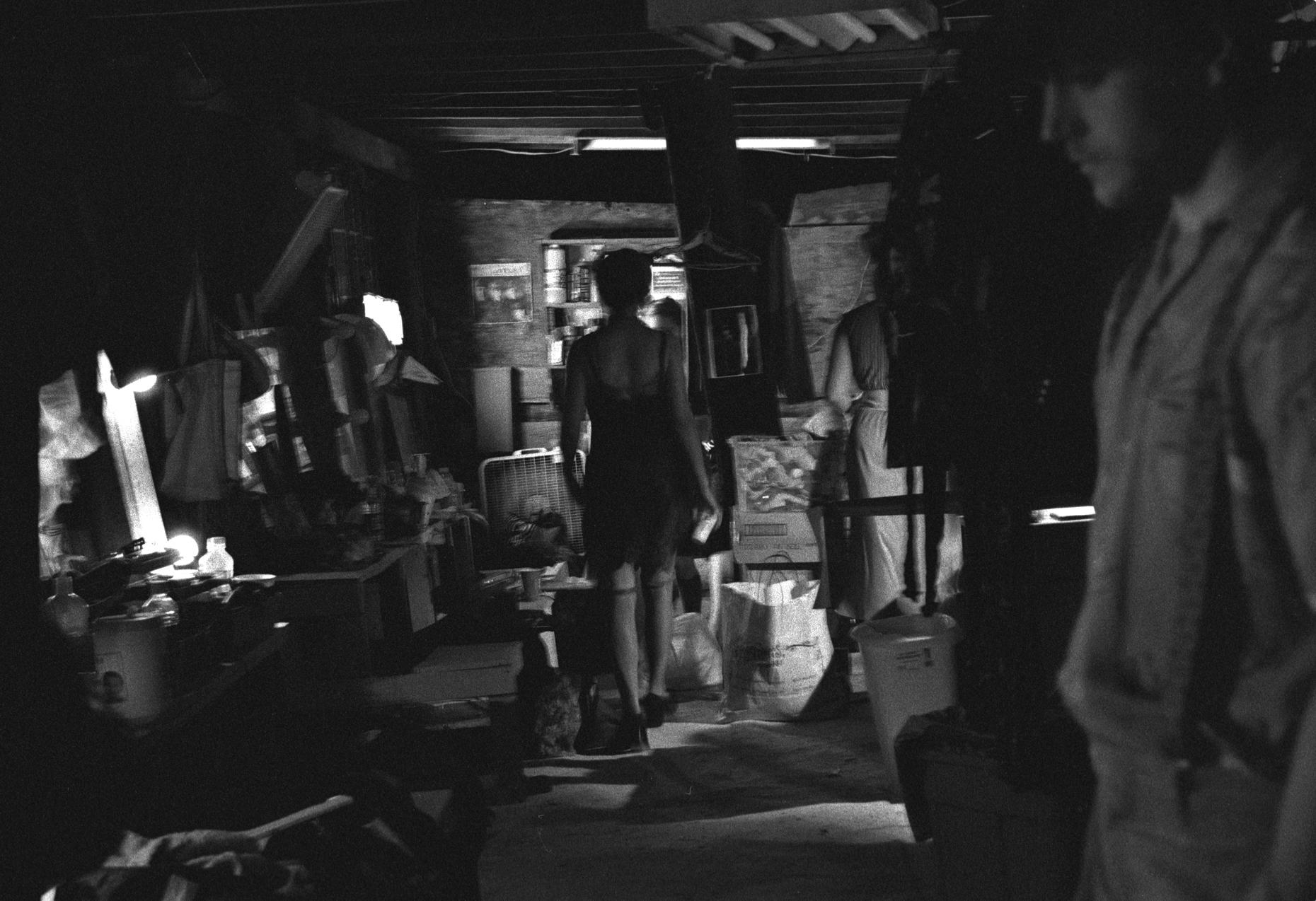 Midnight, Backstage