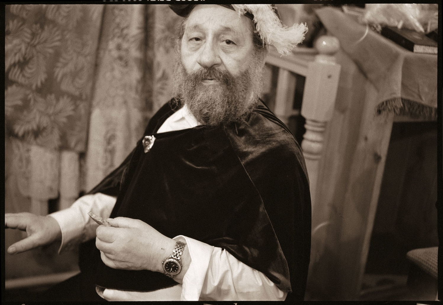 Rebbe Hoffman in Costume
