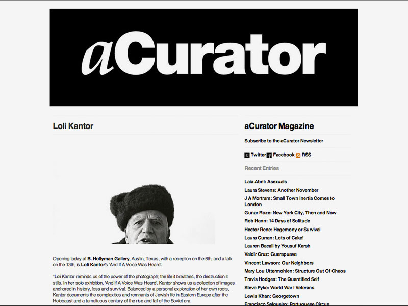 www.acurator.com October, 2011