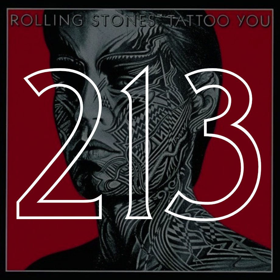 213 The Rolling Stones Tattoo You 1981 The Rs 500