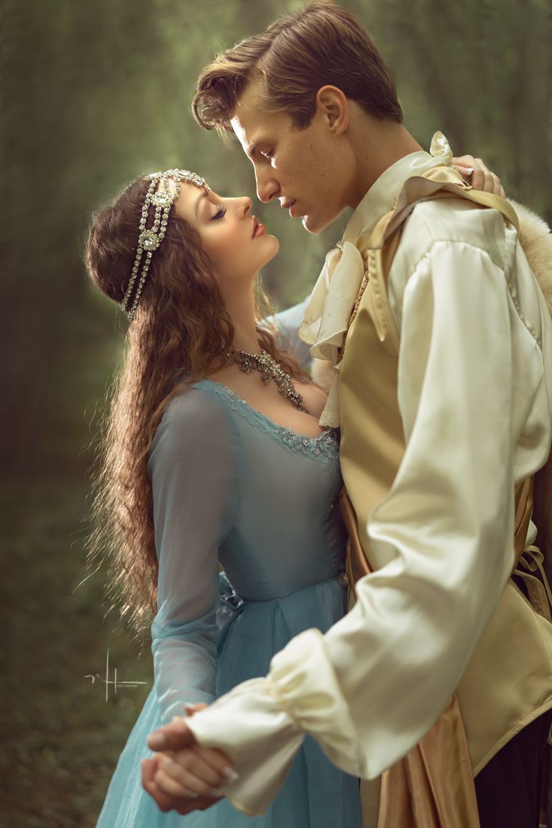 Sleeping Beauty shared the story of how she was tricked and poisoned by the evil wicked witch. Prince Charming promised to protect her forever and Sleeping Beauty was so happy. Love blossomed that night in the forest.