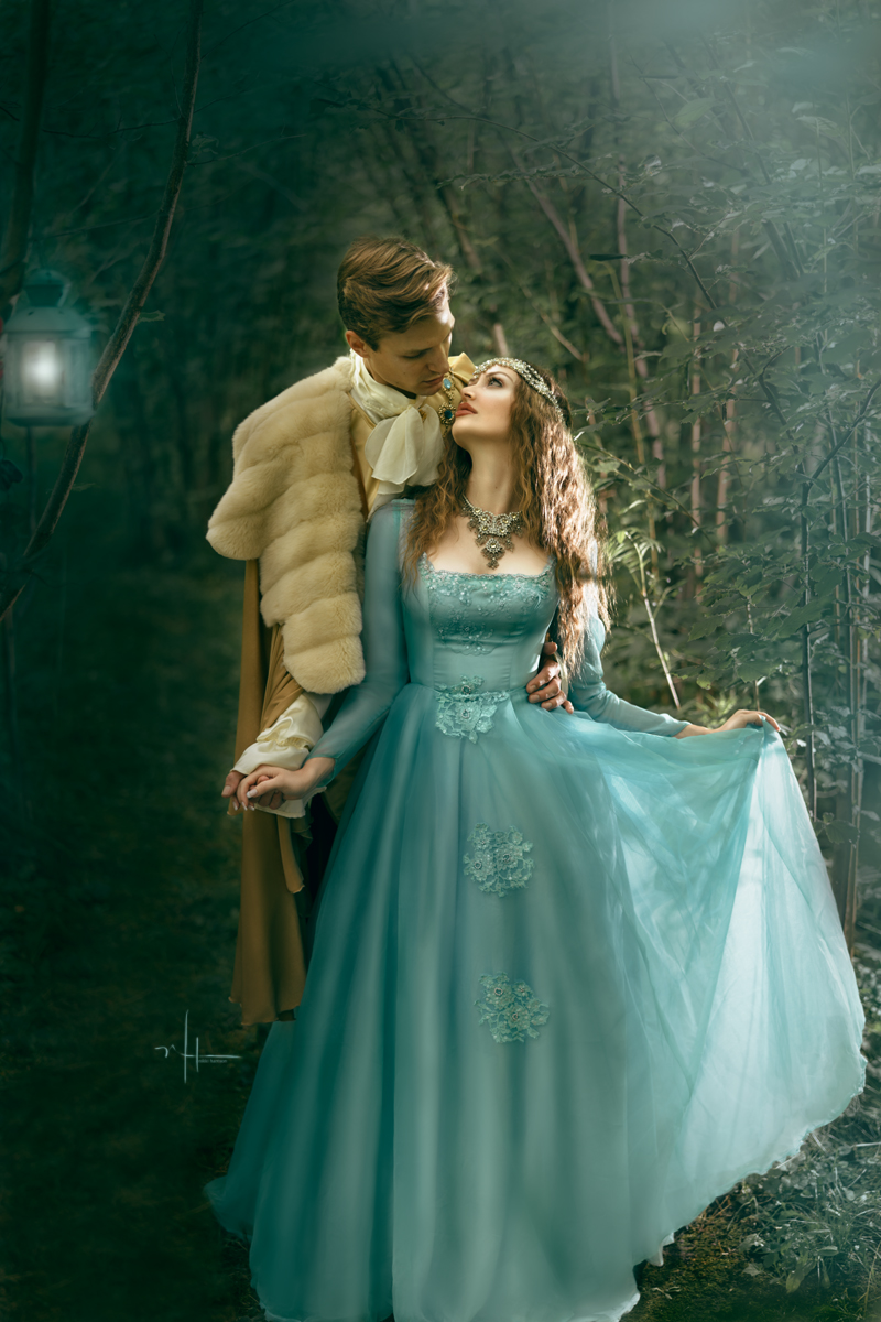 "Prince Charming, concerned about his love asked if she was alright. As she gazed up at this beautiful Prince, she replied, ""I've never been better."""