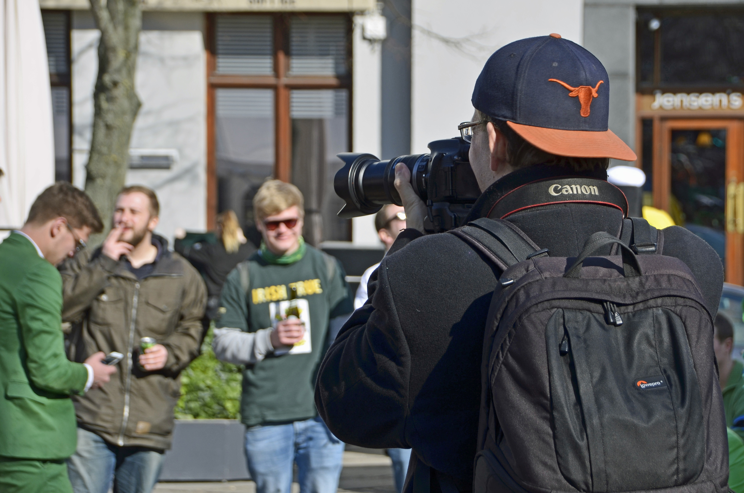 Of course when out and about with other photographers you run the risk of ending up in their pictures! Photo by Lars G Truedsson