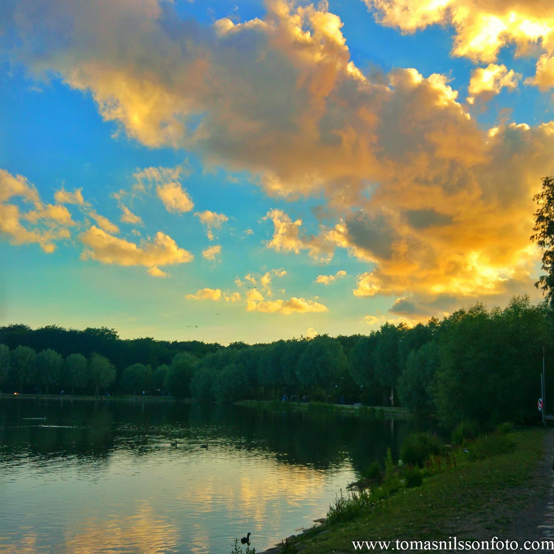 June 22 - Day 174: Technicolor Sunset