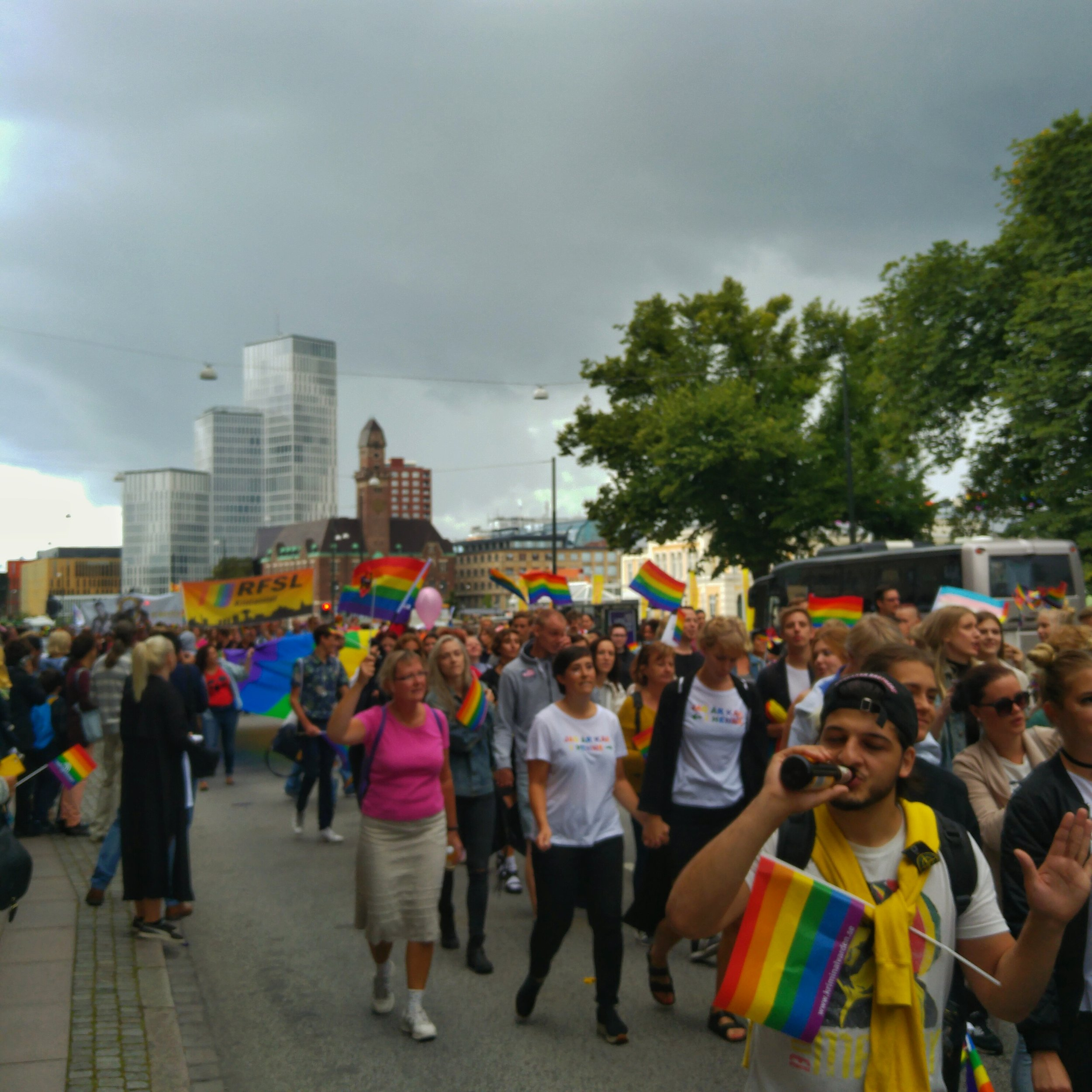 August 6 - Day 219: Pride in Malmö
