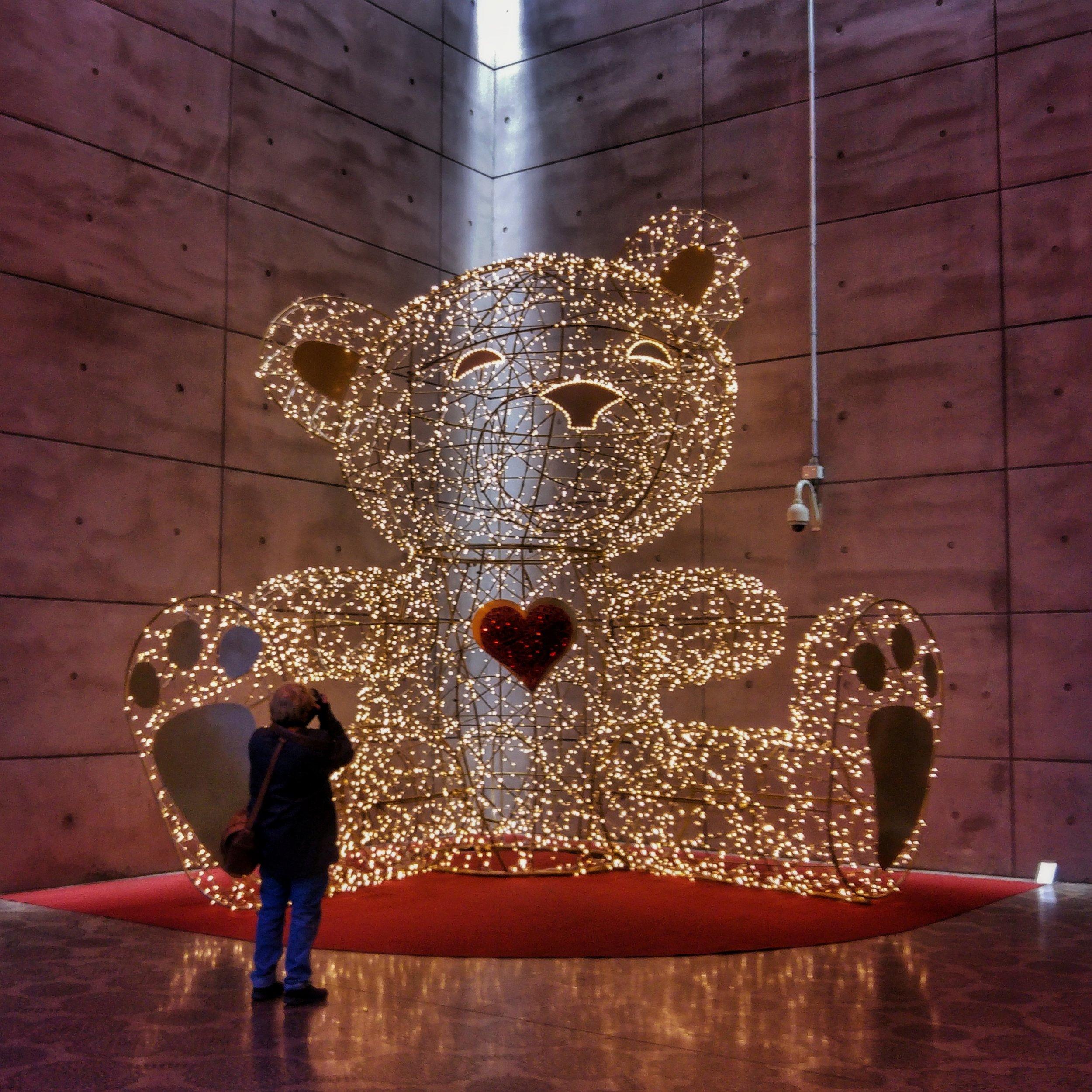 November 27 - Day 332: Christmas Teddy is back!