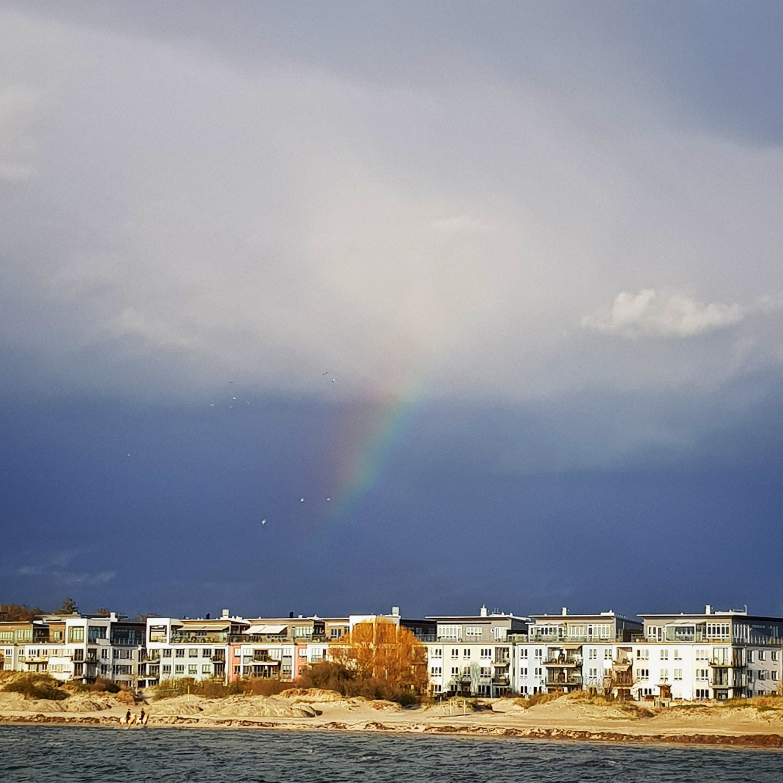 Day 129 - May 9: Rainbow Sky