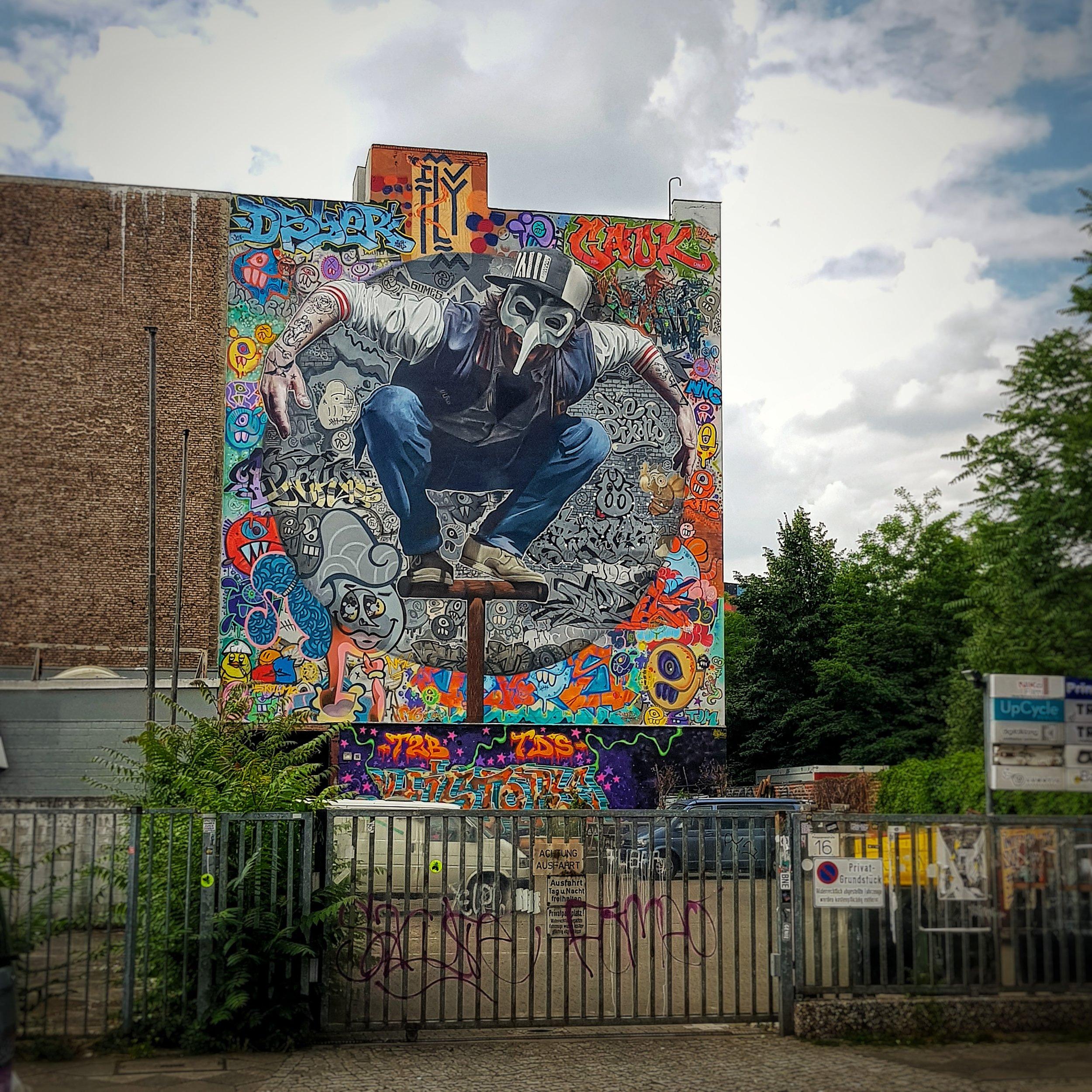 Day 167 - June 16: Graffiti in Kreuzberg