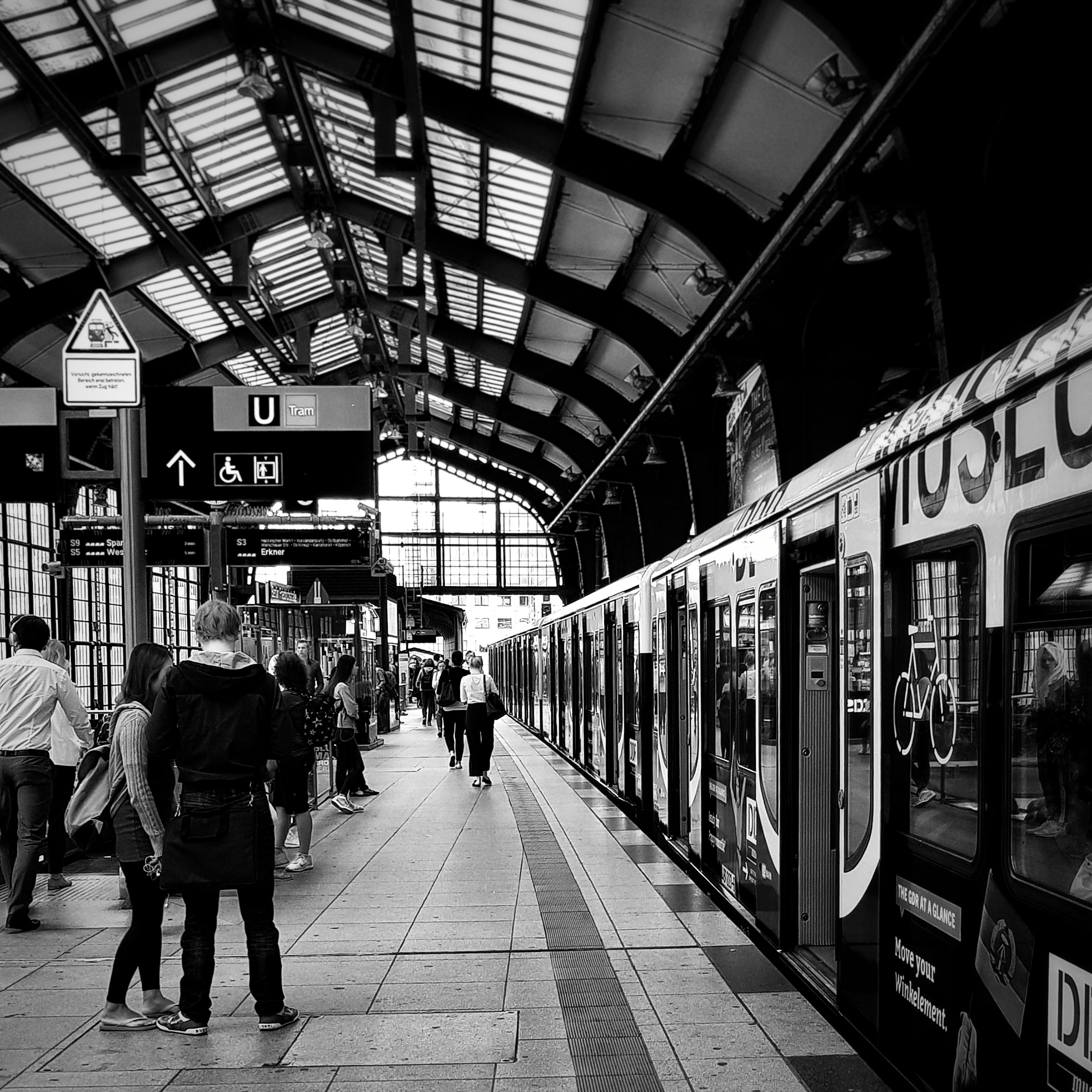 Day 183 - July 02: Commuters on the platform