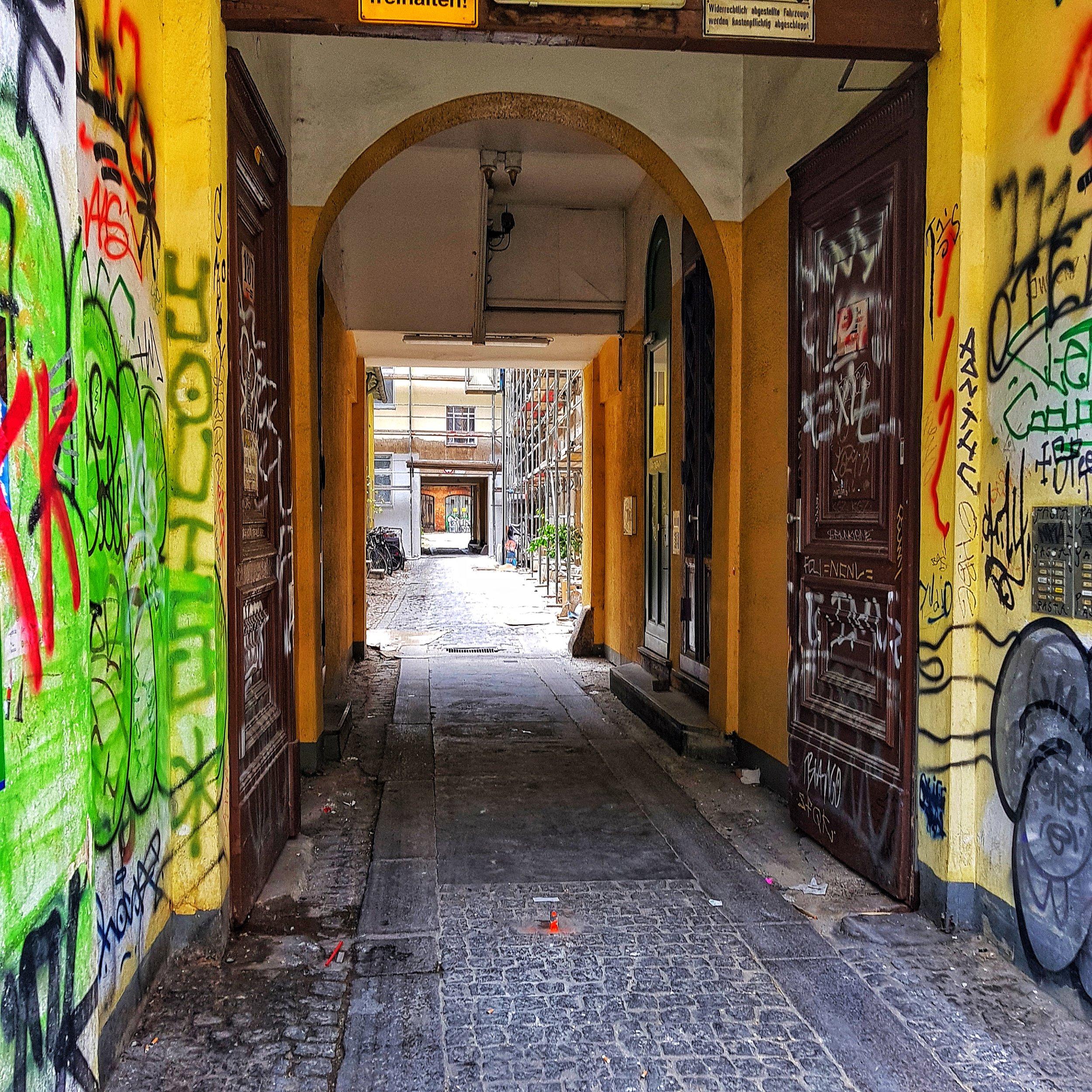 Day 198 - July 17: Kreuzberg Back Alley