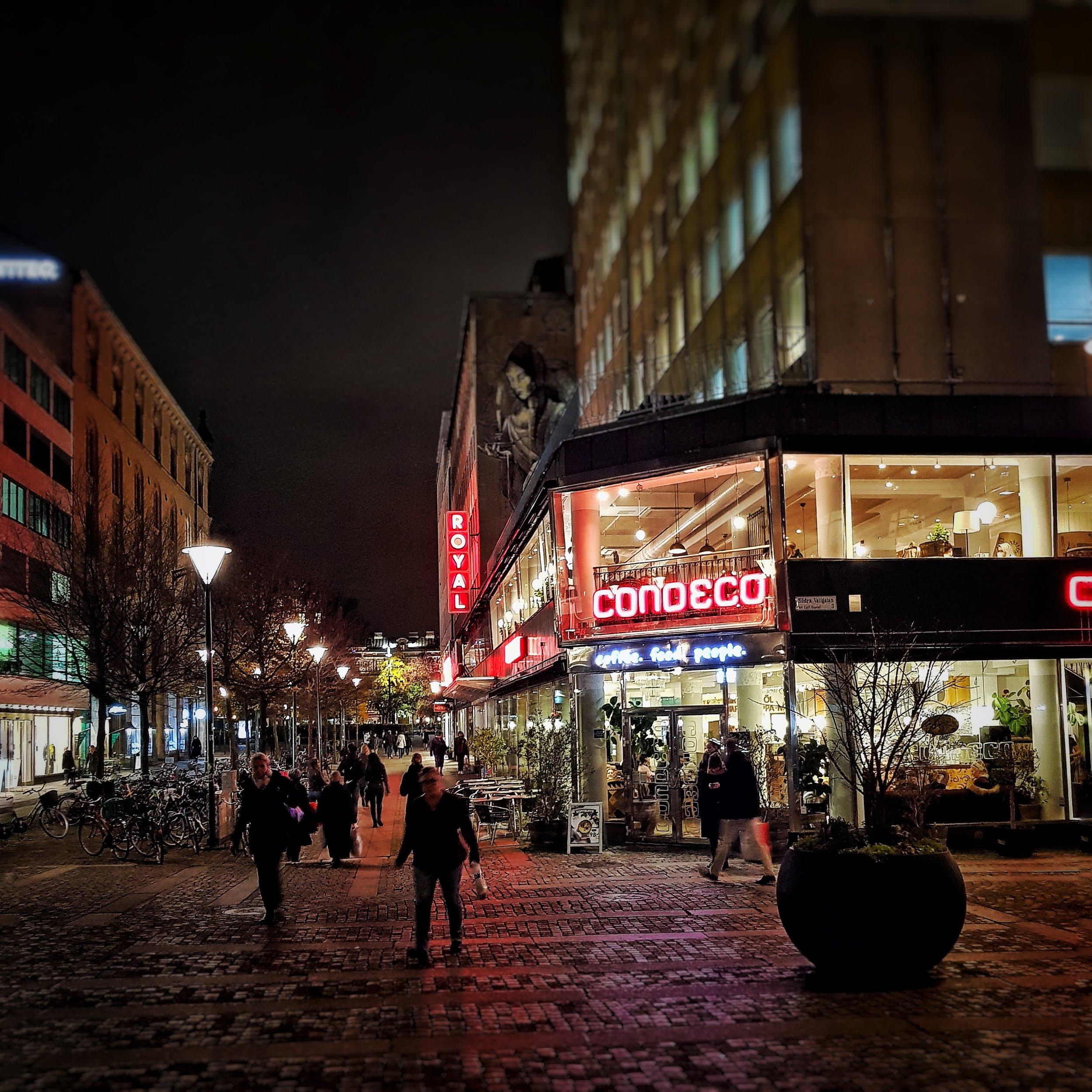 Day 318 - November 14: Night in the City