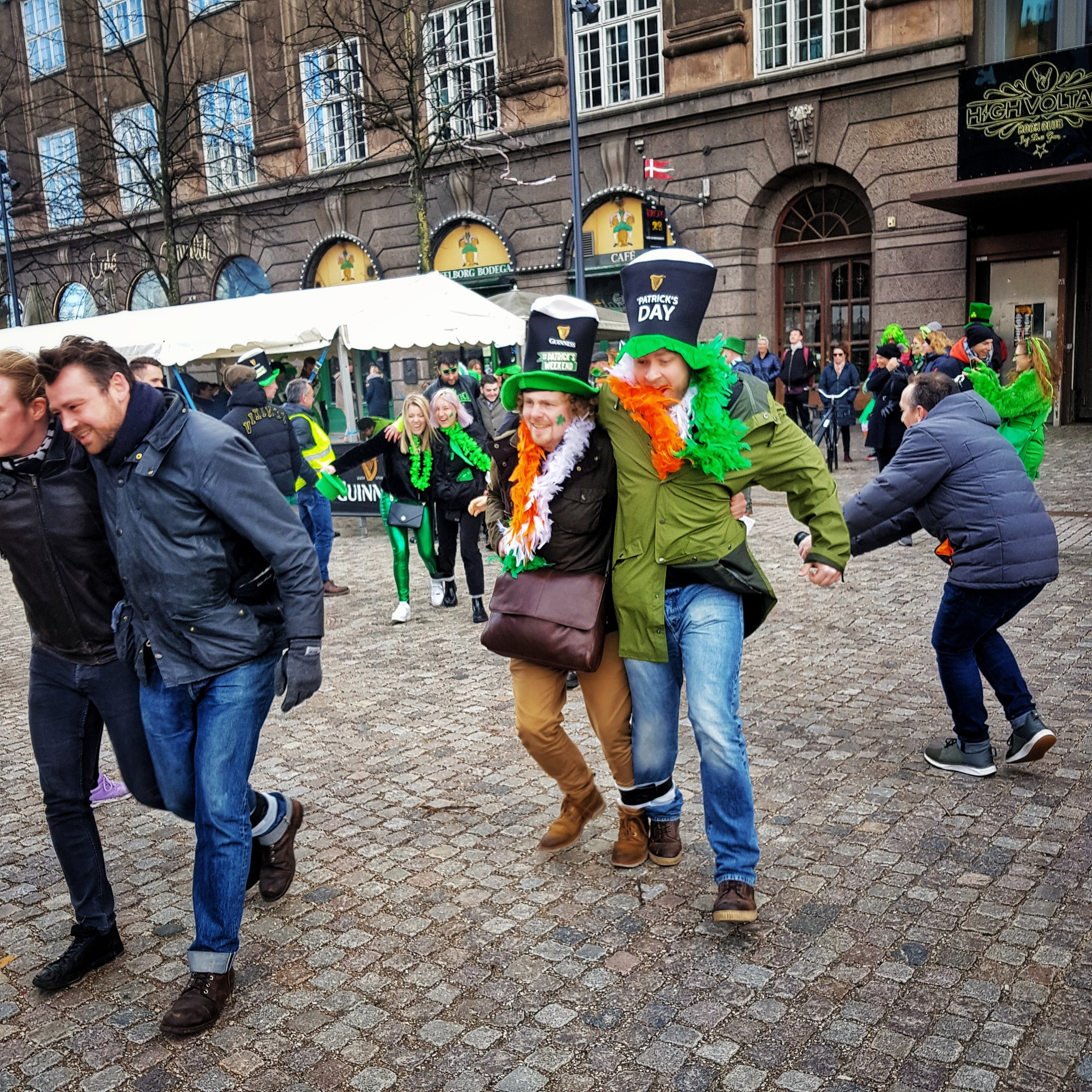 March 17 - Day 76: It's Paddy's day!