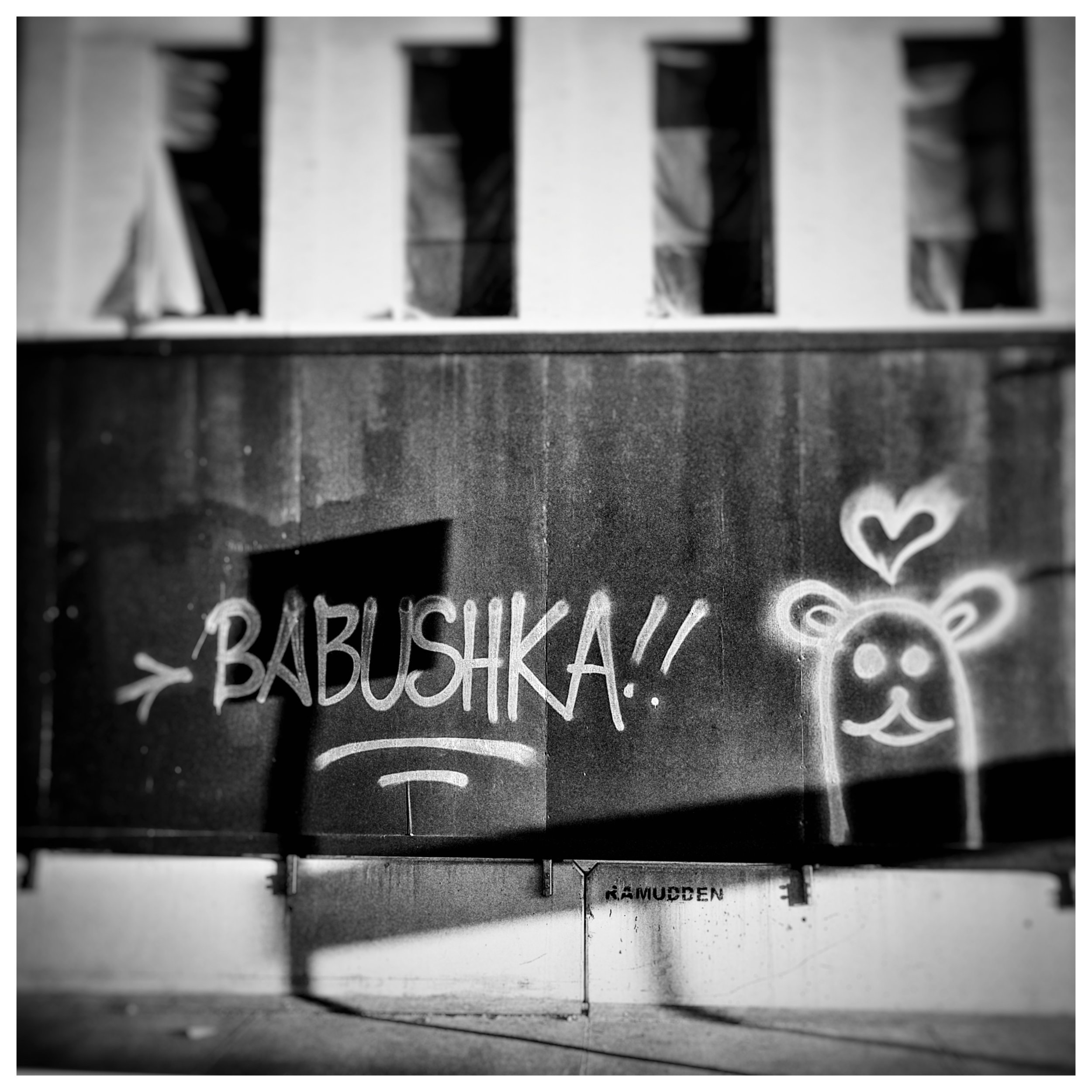 Day 155 - June 4: International Graffiti?