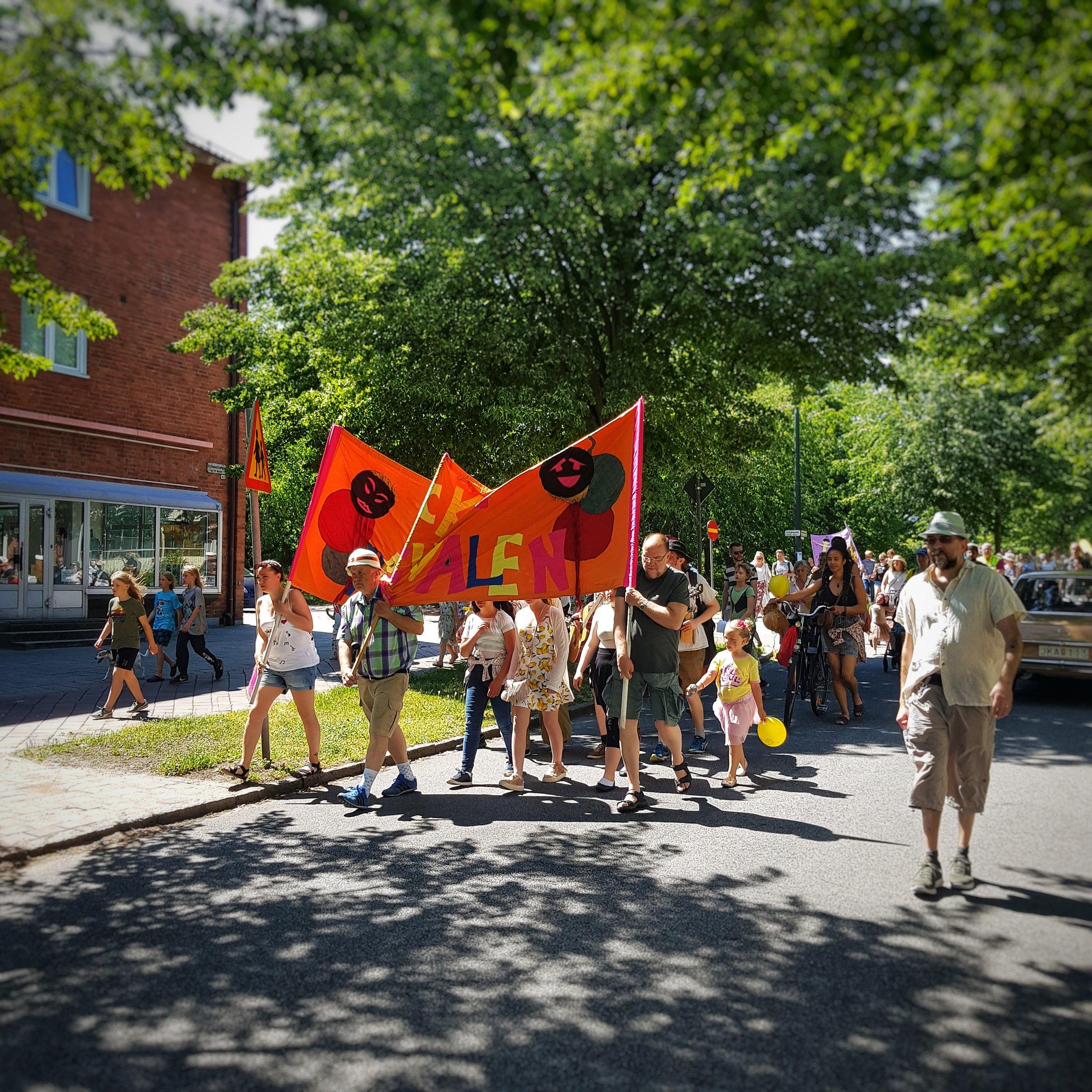 Day 157 - June 6: Carnival in Kirseberg