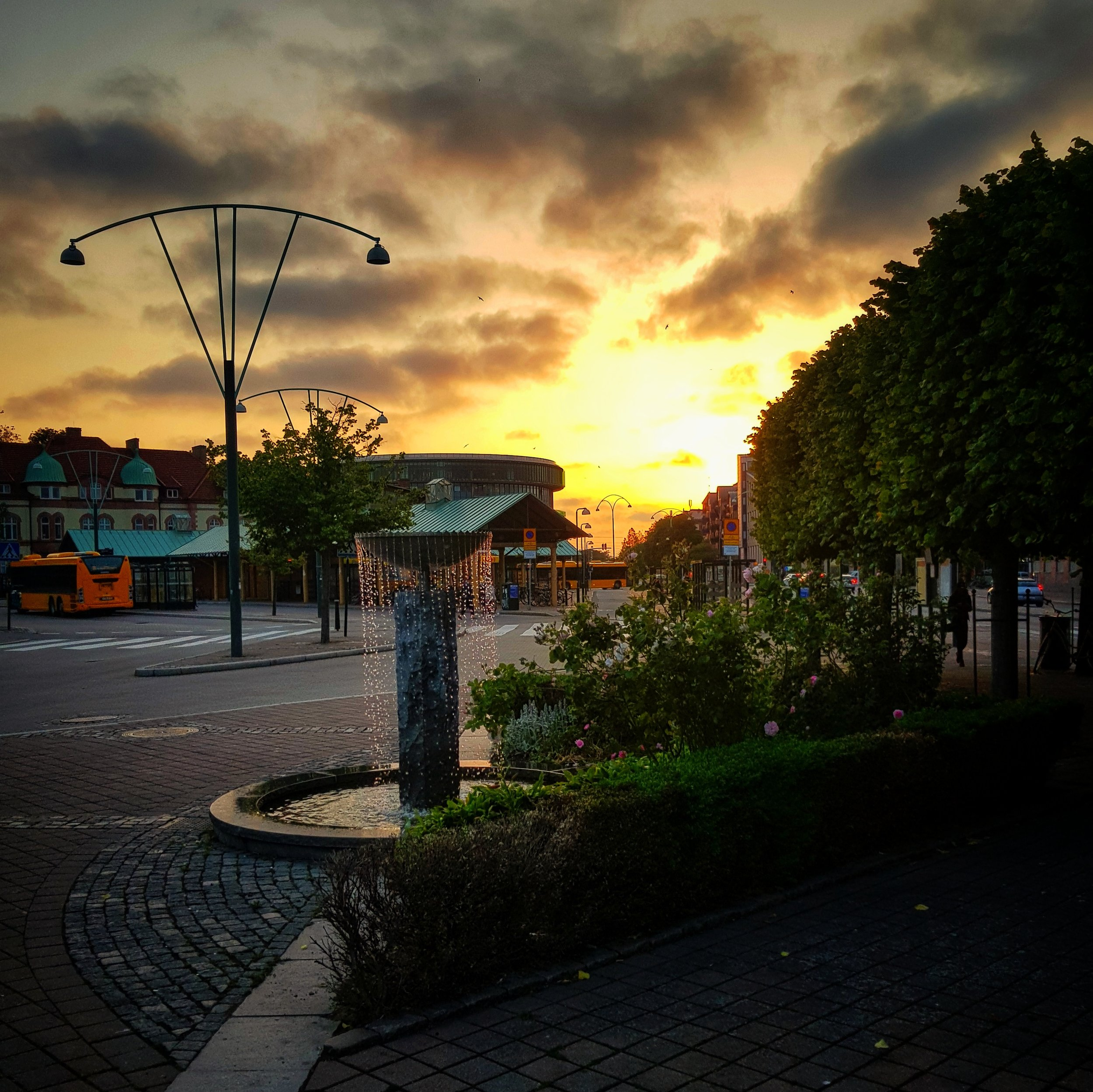 Day 166 - June 15: Technicolor Sunset