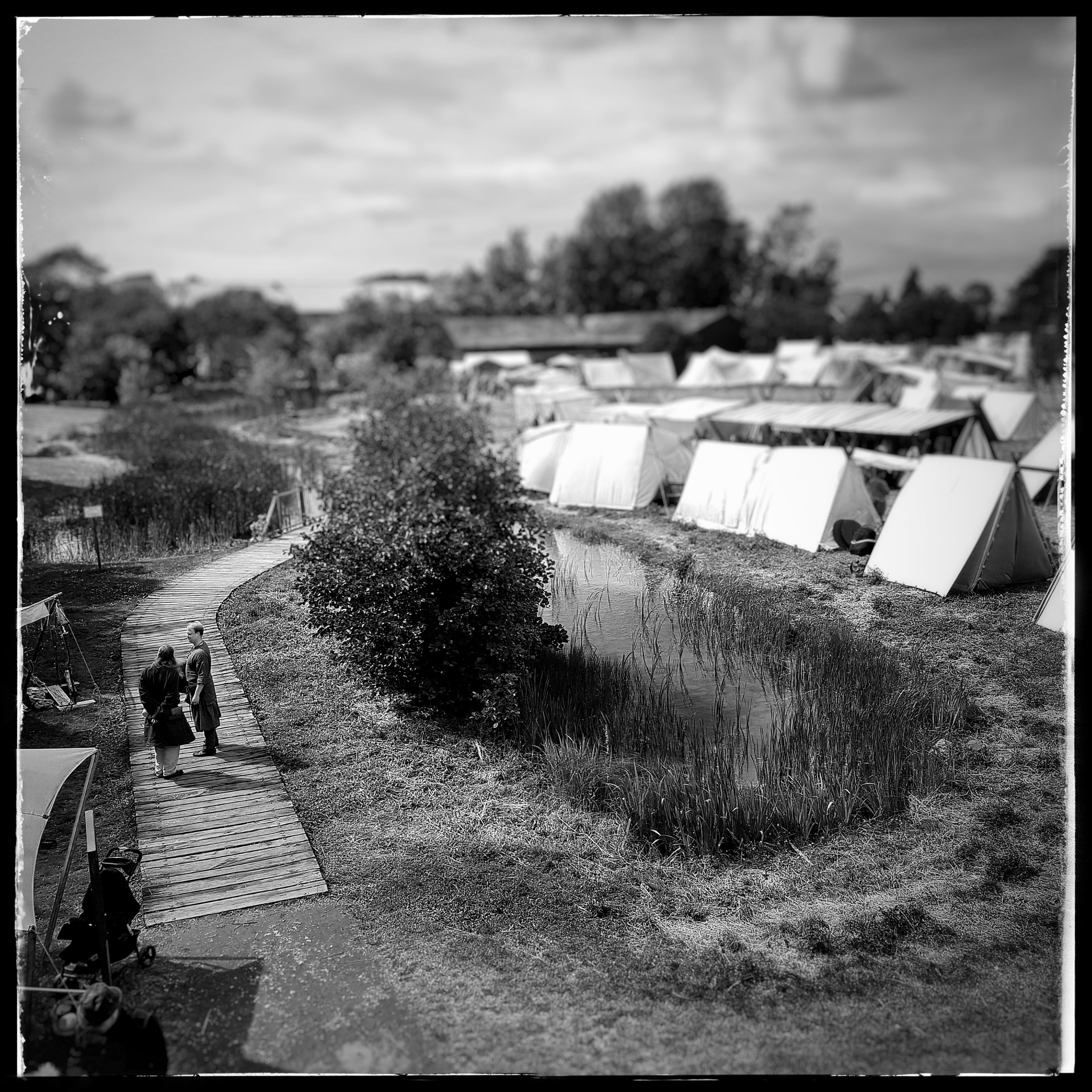 Day 190 - July 9: Market day at the Viking reserve