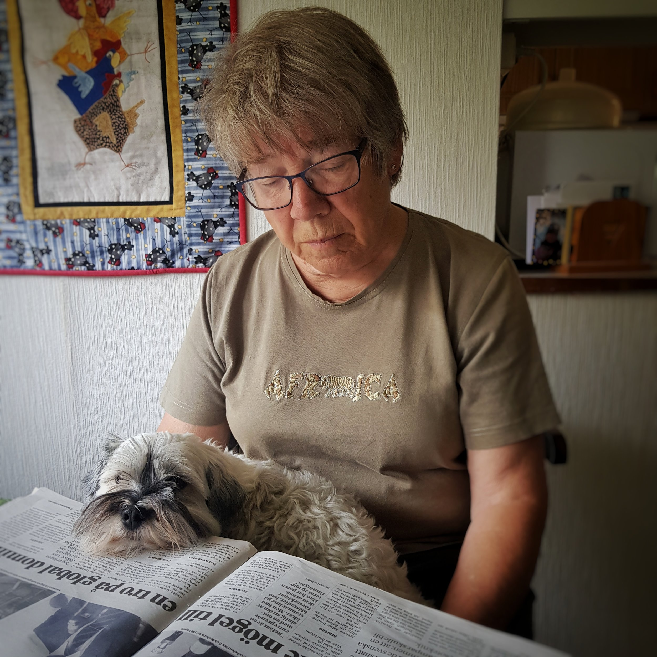 Day 200 - July 19: Gramma, please read me the news!