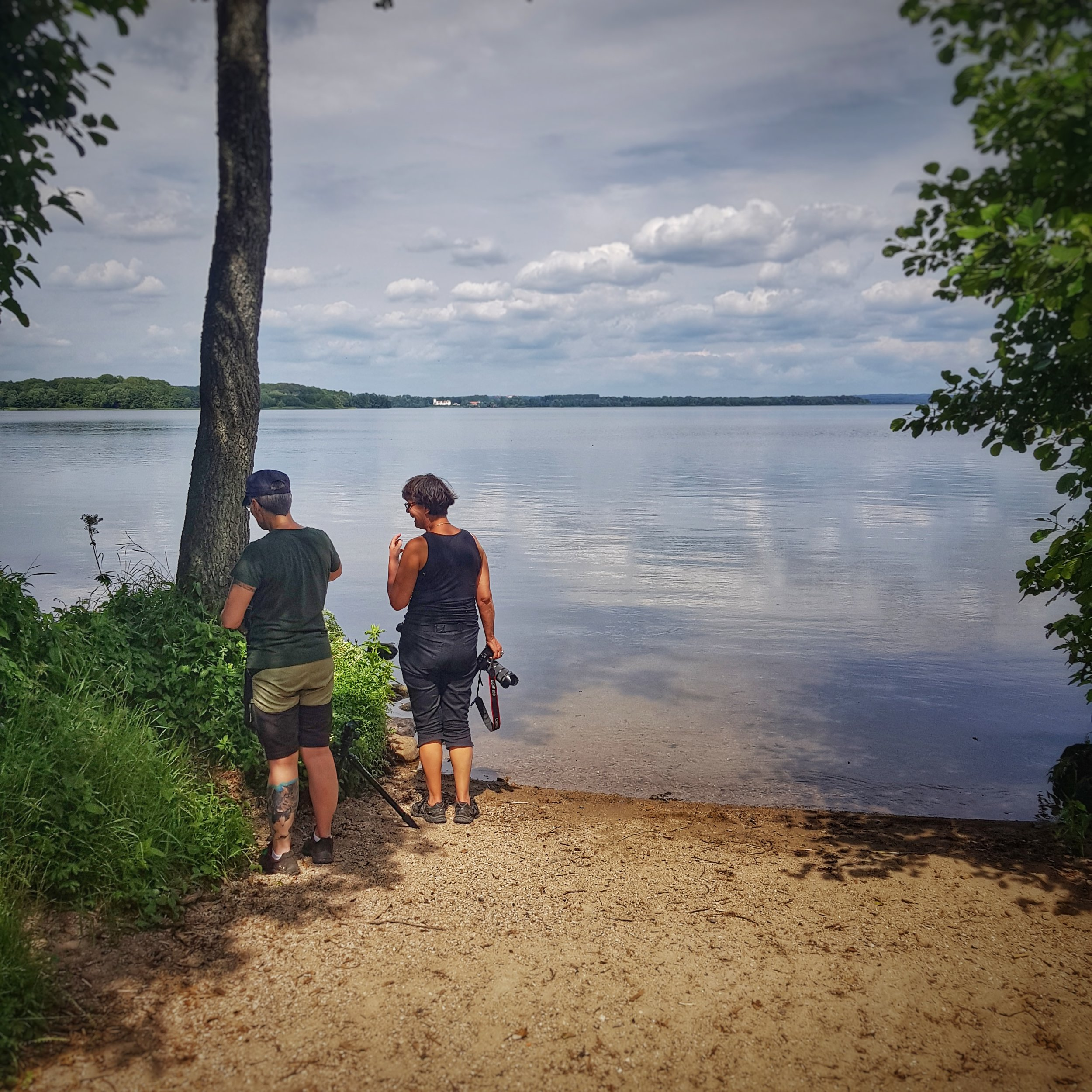 Day 201 - July 20: Photographing at the lake