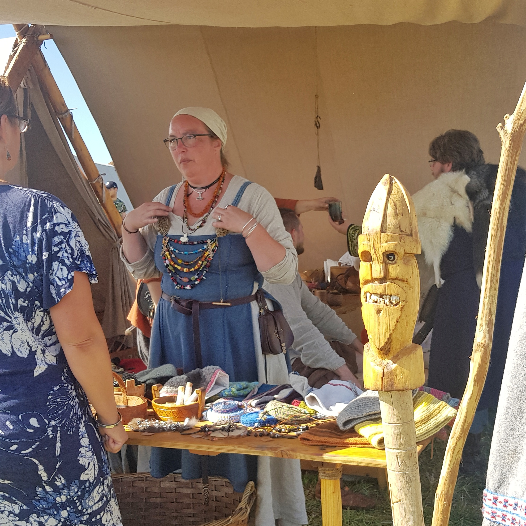 Day 236 - August 24: Iron Age Market Day