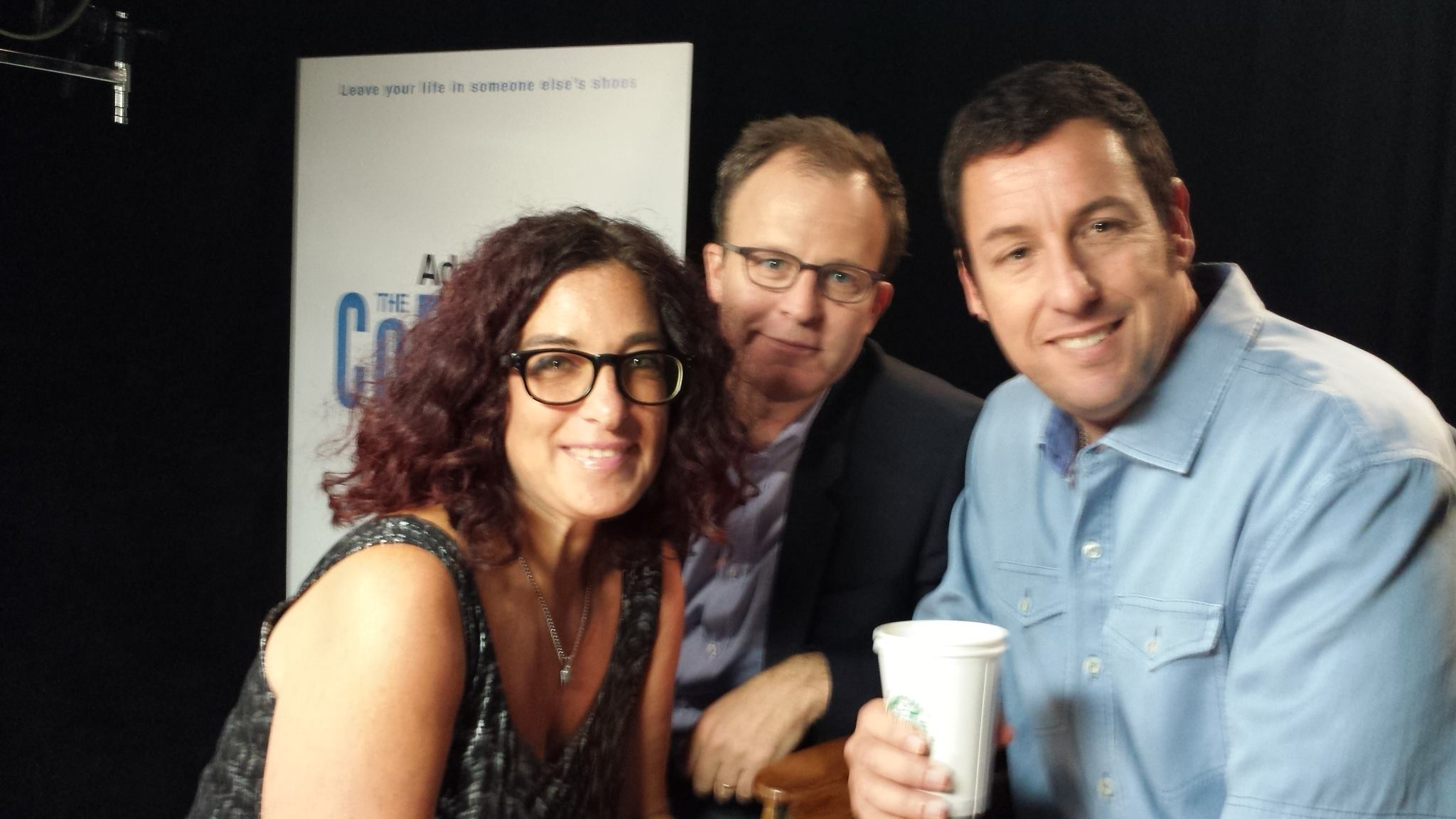 Tom McCarthy and Adam Sandler - The Cobbler