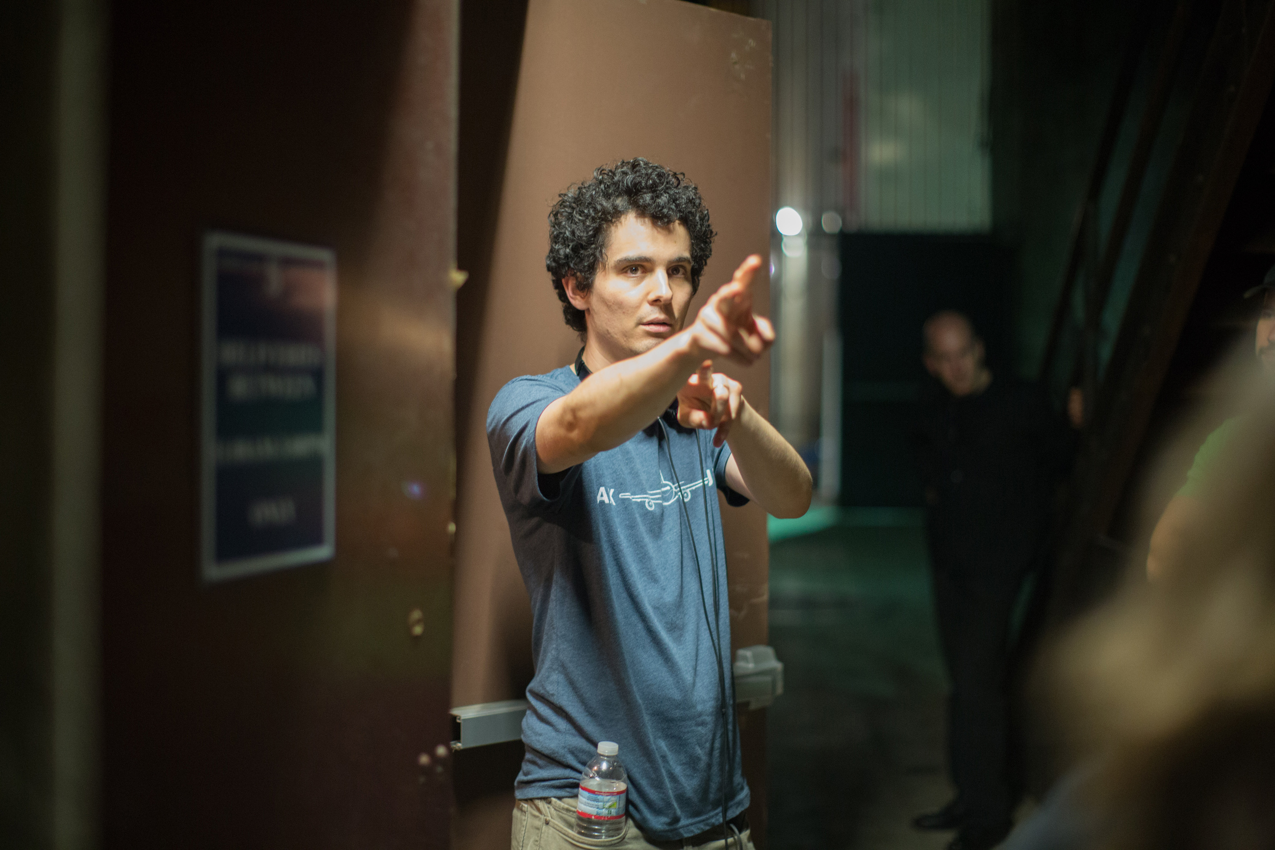 "Damien Chazelle, Director of ""Whiplash"""