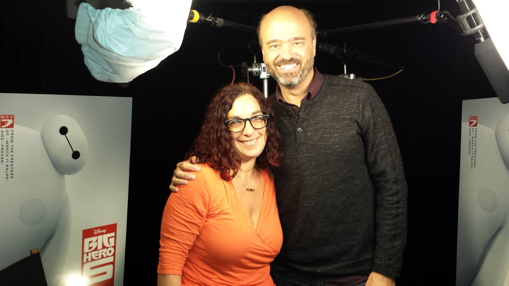 With Scott Adsit the voice of Baymax everyone's favorite healthcare provider