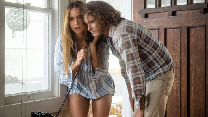 Katherine Waterston and Joaquin Phoenix in, Inherent Vice