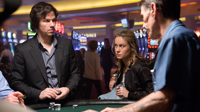 Mark Wahlberg and Brie Larson in, The Gambler