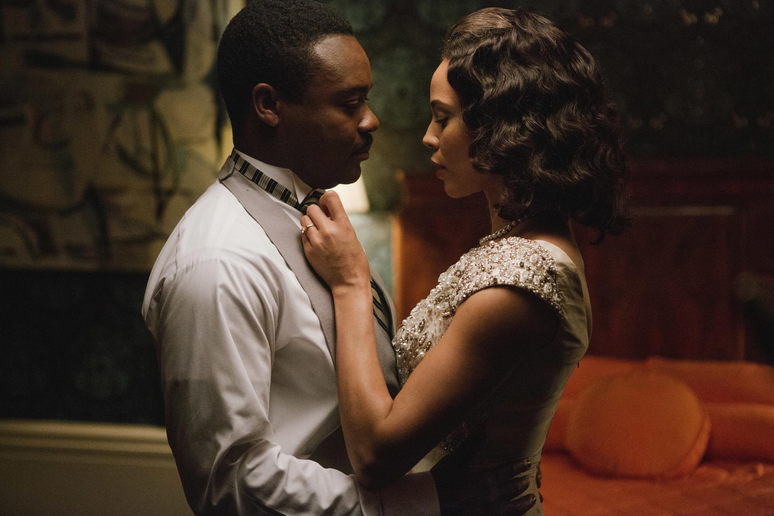David Oyelowo and Carmen Ejogo in, Selma