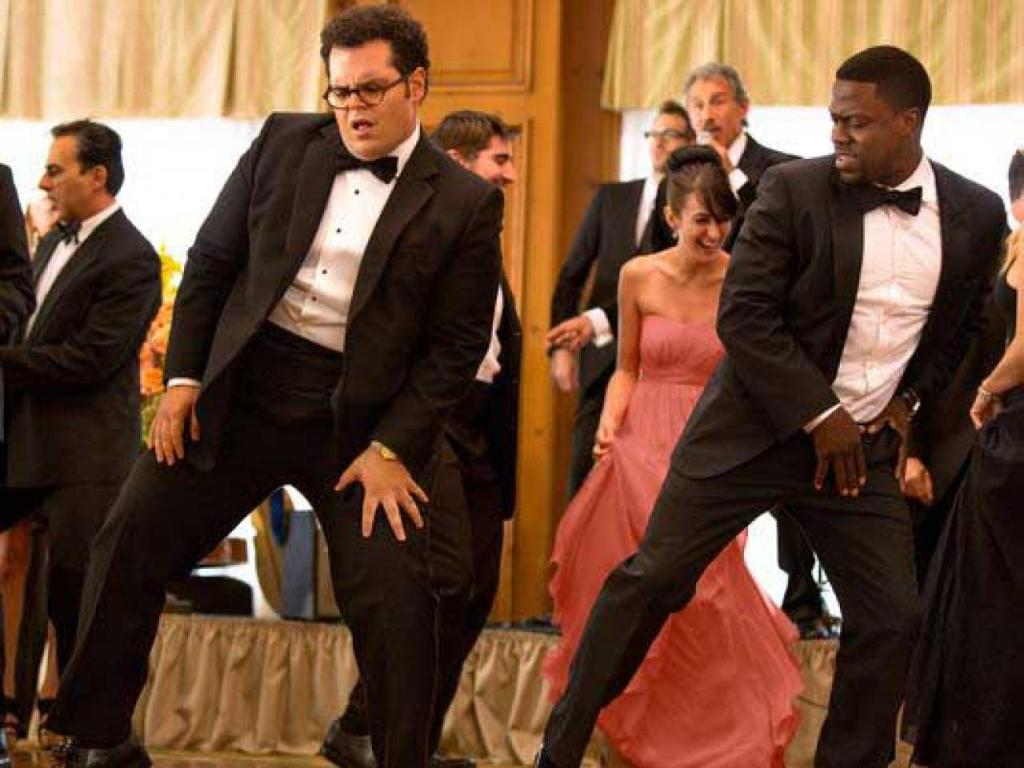 Josh Gad and Kevin Hart in, The Wedding Ringer