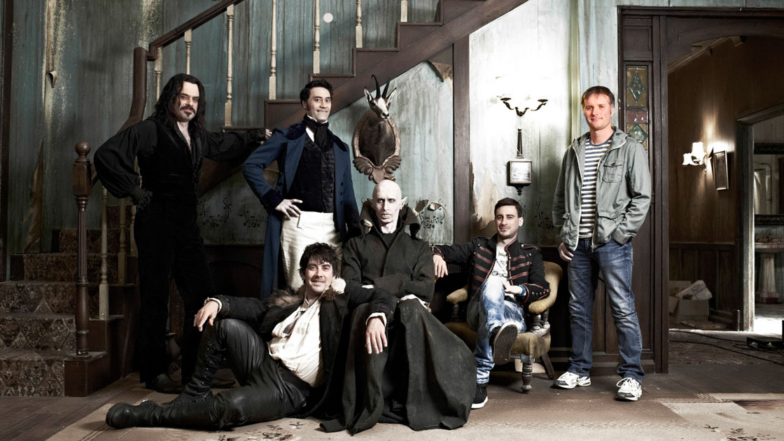 The cast of, What We Do in The Shadows