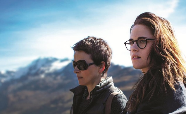 Juliette Binoche and Kristen Stewart in, Clouds of Sils Maria