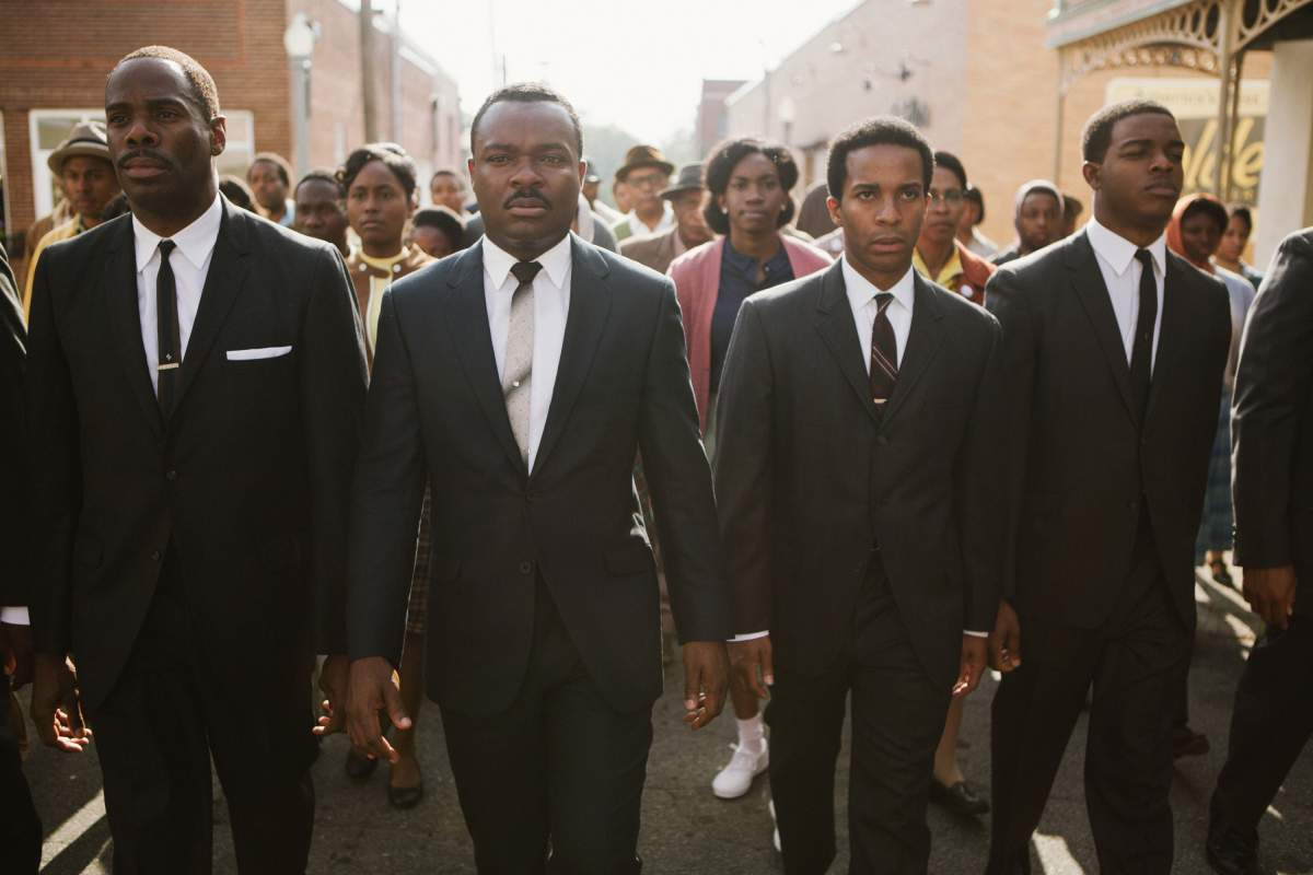 David Oyelowo as Dr Martin Luther King in, Selma