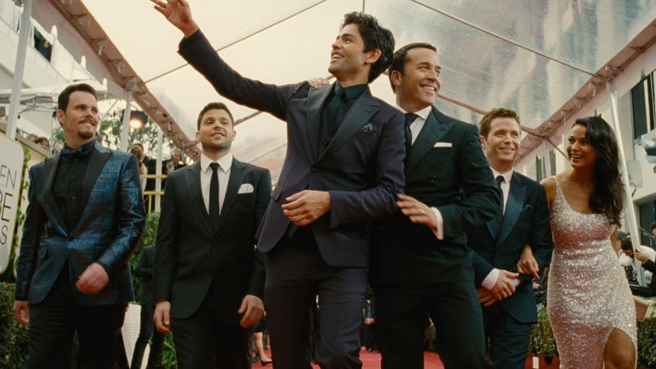 Drama, Turtle, Vinnie, Ari, Eric and Sloan are all back