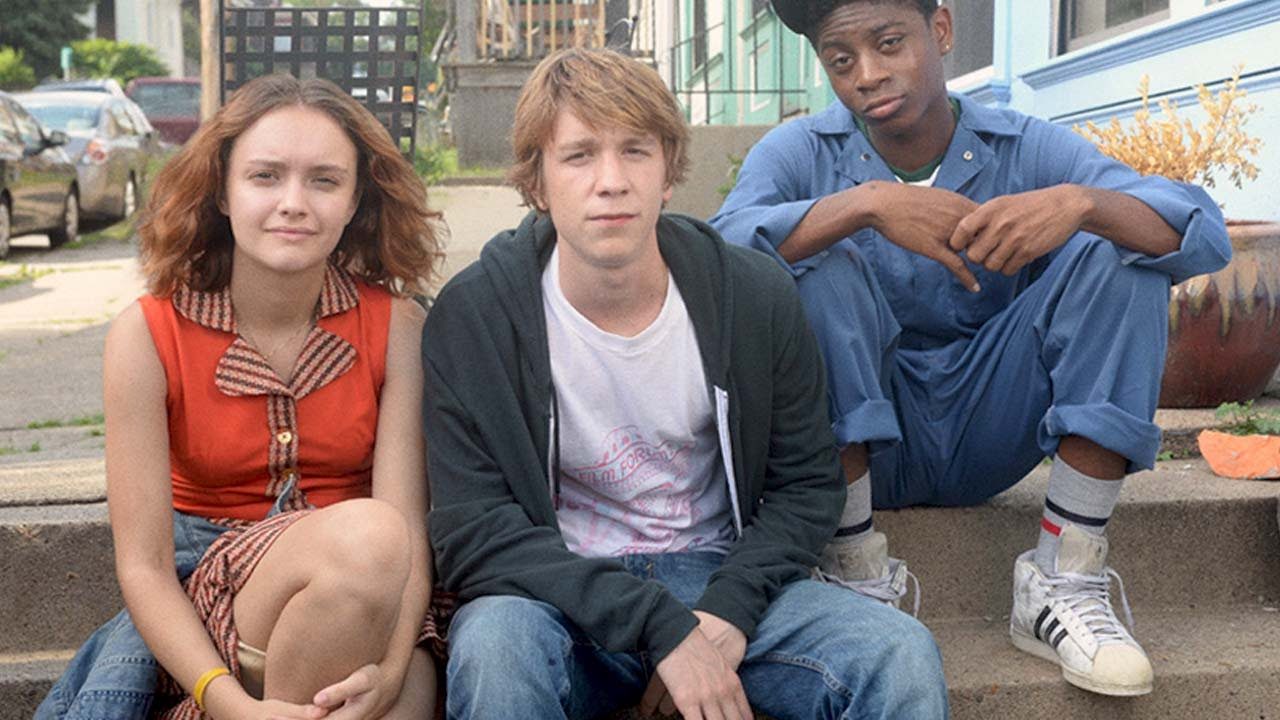 Olivia Cooke, Thomas Mann and RJ Cyler in, Me and Earl and the Dying Girl