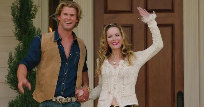 Chris Hemsworth and Leslie Mann