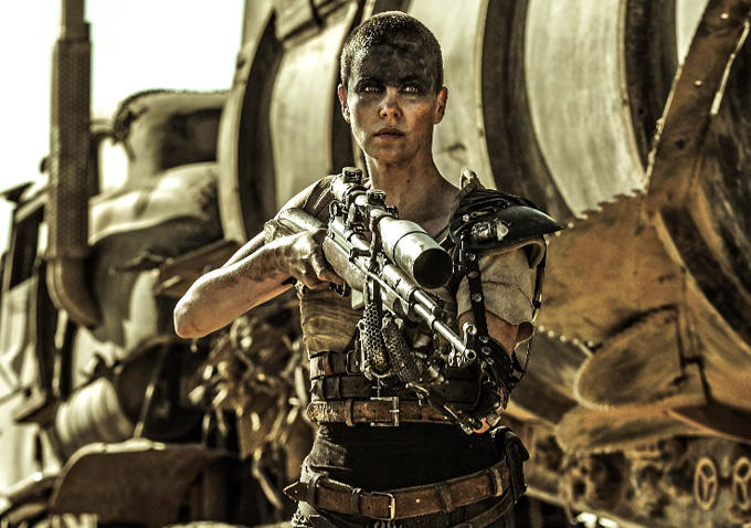 Charlize Theron in Mad Max:Fury Road