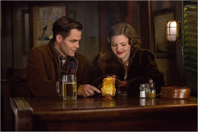 Chris Pine and Holliday Grainger in, The Finest Hours