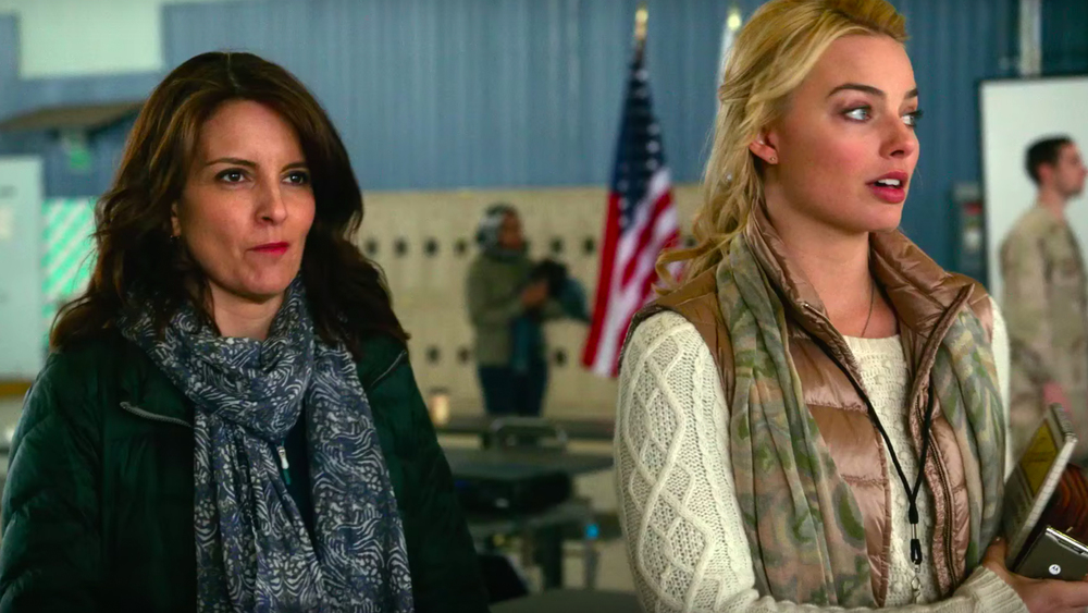 Tina Fey and Margot Robbie in, Whiskey Tango Foxtrot