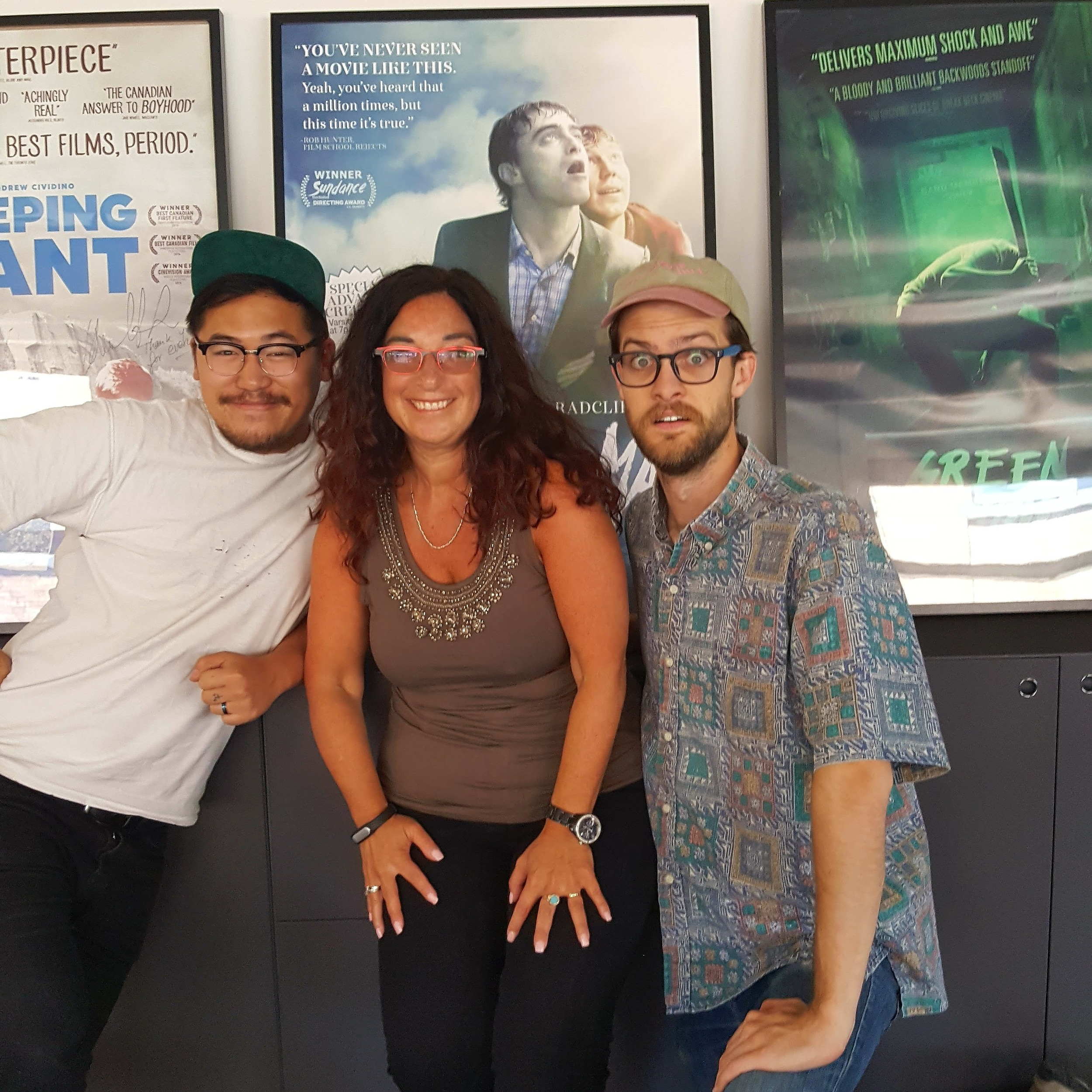 Me with Dan Kwan and Daniel Scheinert