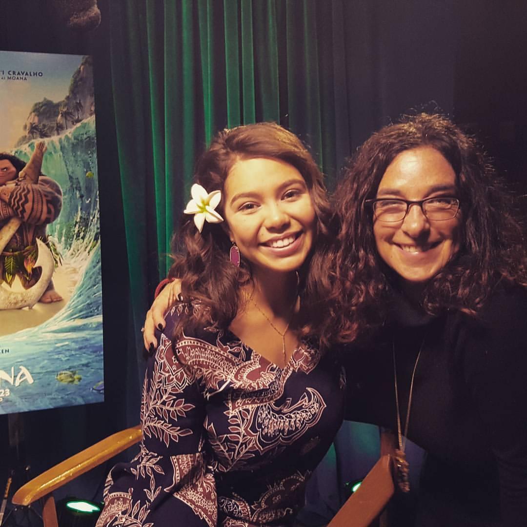 Just hanging with Auli'i - Disney's next BIG star!