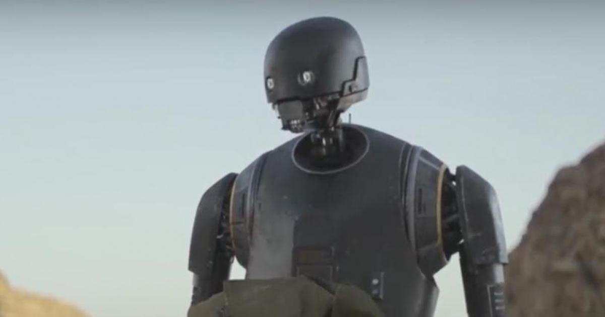 K-2S0 the New Droid in, Rogue One: A Star Wars Story