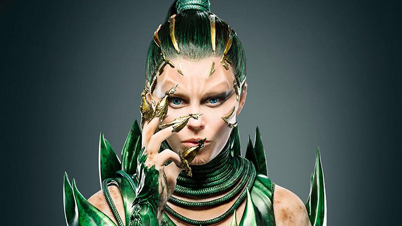 Elizabeth Banks as Rita Repulsa in, The Power Rangers