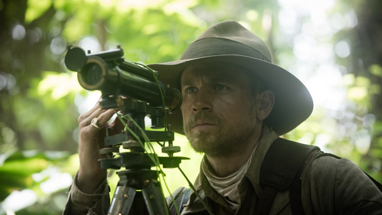 Charlie Hunnam in, The Lost City of Z