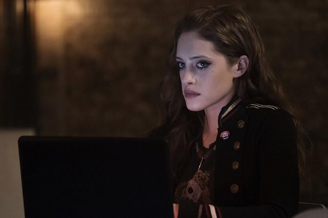 Carly Chaikin as Darlene Alderson in Mr Robot