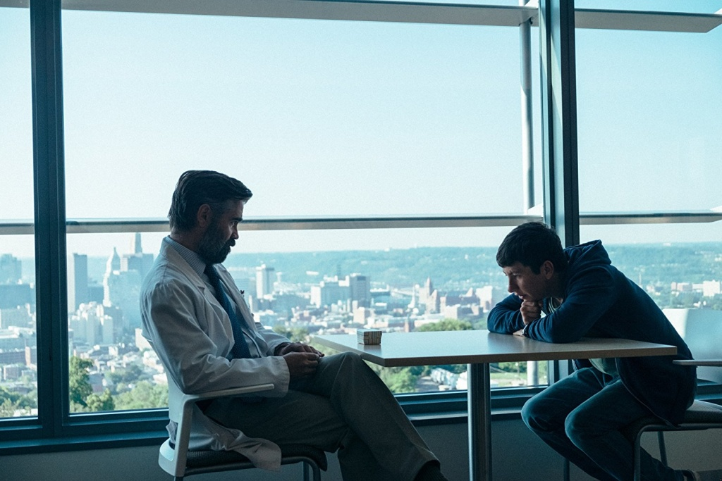 Colin Farrell and Barry Keoghan in, The Killing of A Sacred Deer