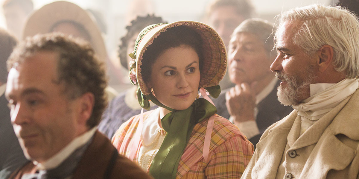 Anna Paquin in Alias Grace