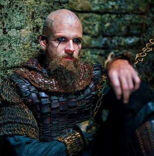 """Gustaf Skarsgard as """"Floki"""" in VIKINGS"""