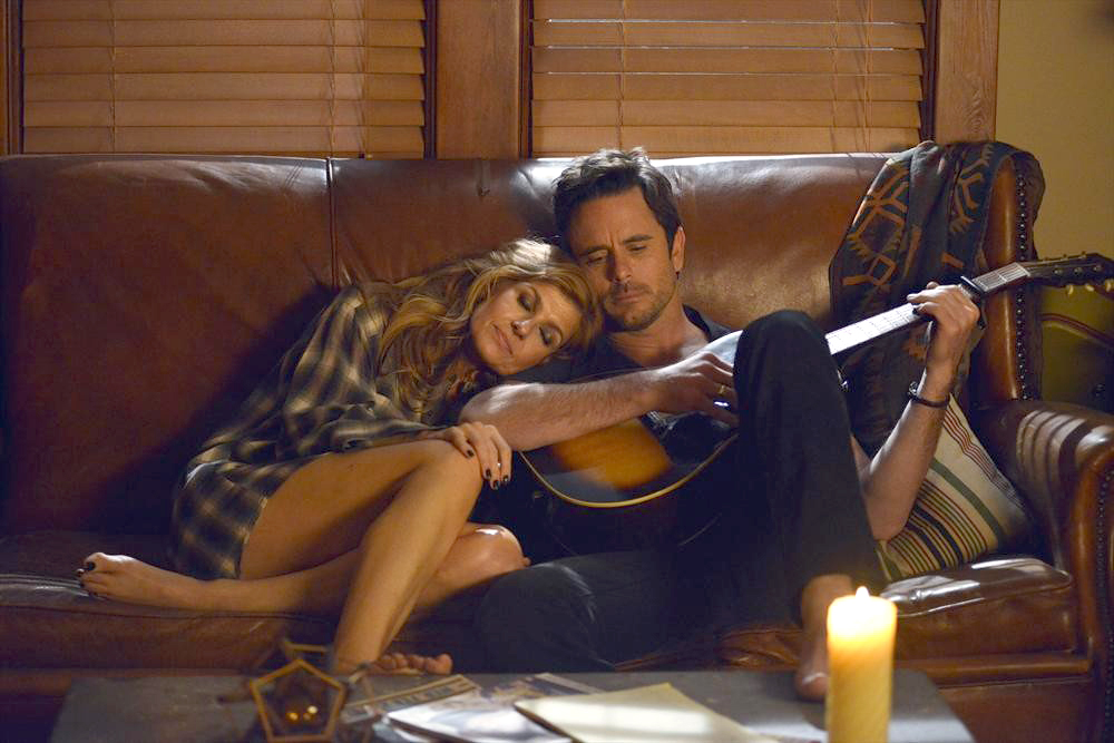 Charles Esten with former co-star Connie Britton who played Rayna James